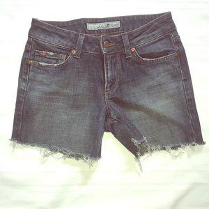 26 Joe's Jean denim Cut off shorts distressted